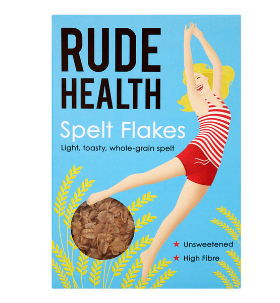 Rude Health Spelt Flakes - Roots Fruits & Flowers Glasgow