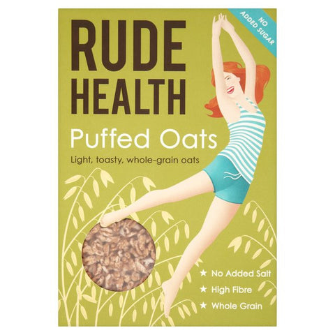 Rude Health Puffed Oats - Roots Fruits & Flowers Glasgow