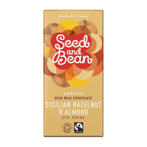Seed and Bean Sicilian Hazelnut & Almond Milk Chocolate