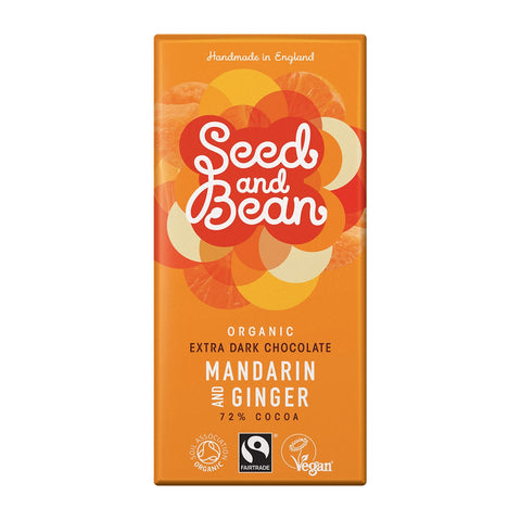Seed and Bean Extra Dark Mandarin & Ginger Chocolate
