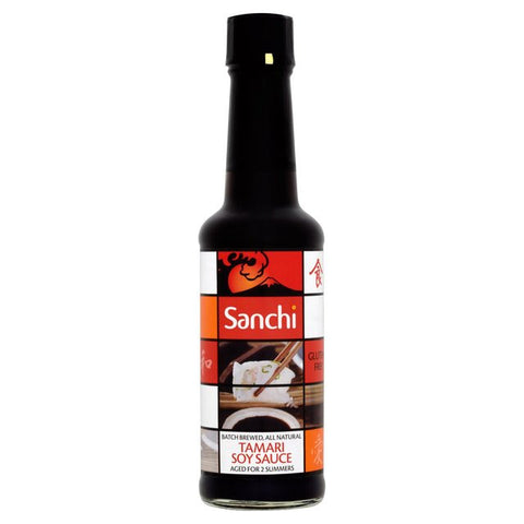 Sanchi Organic Tamari Soy Sauce - Roots Fruits & Flowers Glasgow