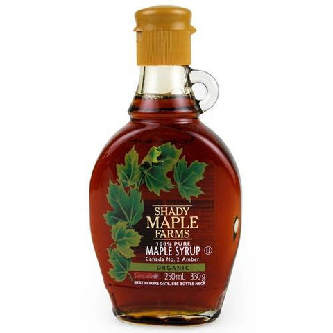 Shady Maple Farms Organic Maple Syrup - Roots Fruits & Flowers Glasgow