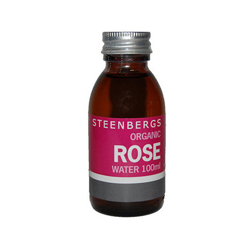 Steenbergs Organic Rose Water - Roots Fruits & Flowers Glasgow