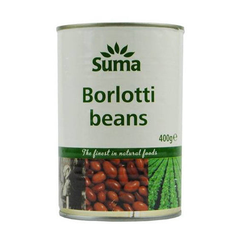 Suma Borlotti Beans - Roots Fruits & Flowers Glasgow