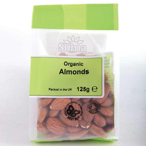 Suma Organic Almonds 125g - Roots Fruits & Flowers Glasgow