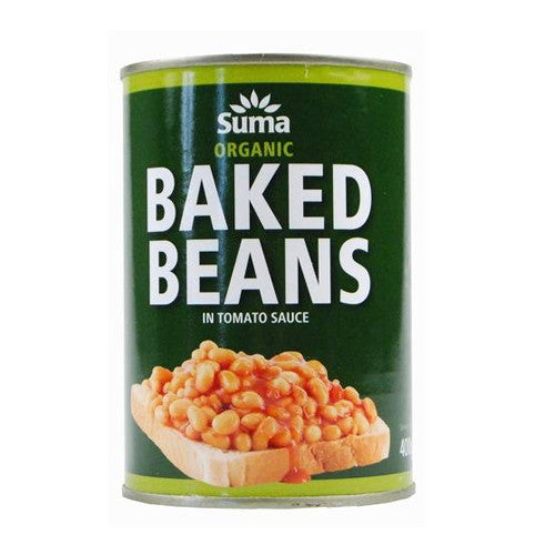 Suma Organic Baked Beans - Roots Fruits & Flowers Glasgow