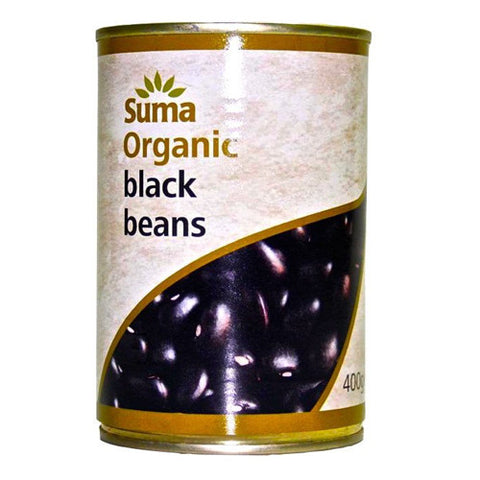 Suma Organic Black Beans - Roots Fruits & Flowers Glasgow