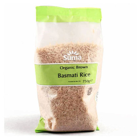 Suma Organic Brown Basmati Rice - Roots Fruits & Flowers Glasgow
