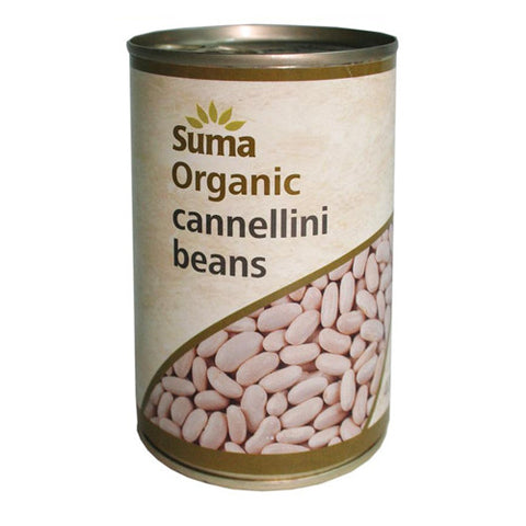 Suma Organic Cannellini Beans - Roots Fruits & Flowers Glasgow