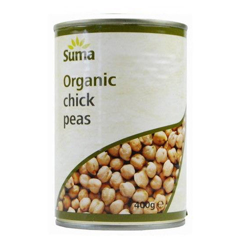 Suma Organic Chick Peas - Roots Fruits & Flowers Glasgow