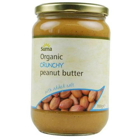 Suma Organic Crunchy Peanut Butter with Salt