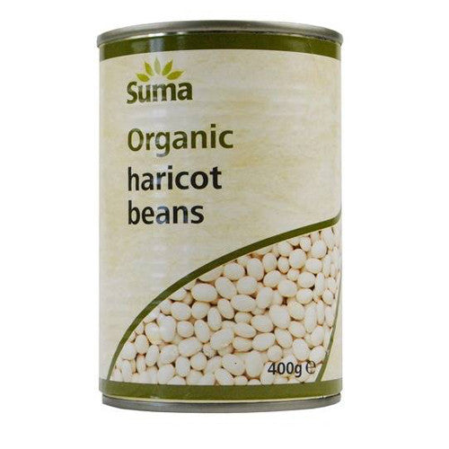 Suma Organic Haricot Beans - Roots Fruits & Flowers Glasgow
