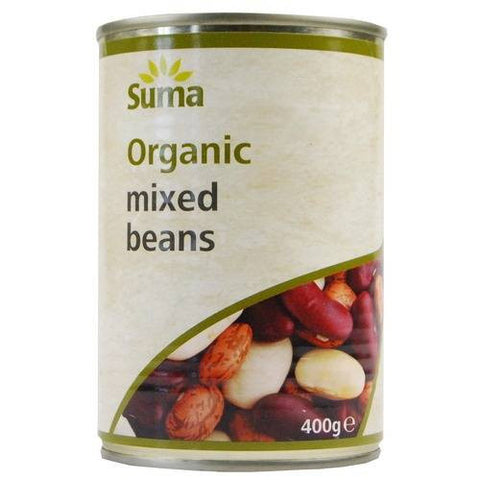 Suma Organic Mixed Beans - Roots Fruits & Flowers Glasgow