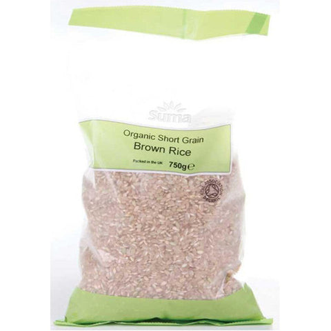 Suma Organic Short Grain Brown Rice - Roots Fruits & Flowers Glasgow