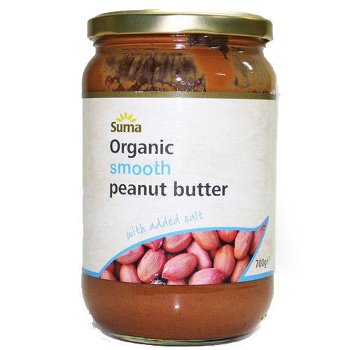 Suma Organic Smooth Peanut Butter - Roots Fruits & Flowers Glasgow