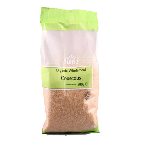 Suma Organic Wholemeal Couscous - Roots Fruits & Flowers Glasgow