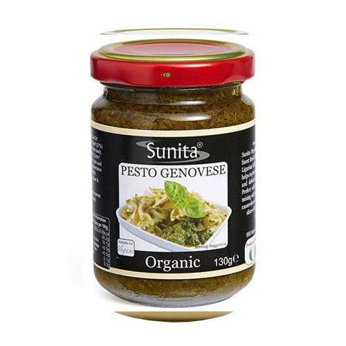 Sunita Organic Pesto Genovese - Roots Fruits & Flowers Glasgow
