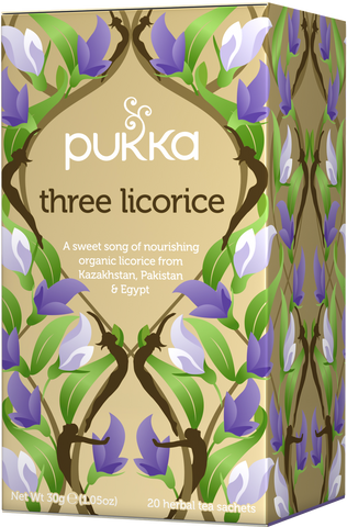 Pukka Three Licorice Tea