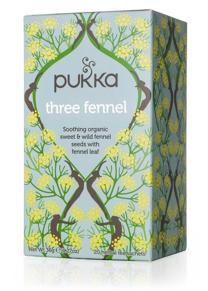 Pukka Three Fennel