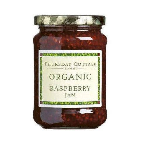 Thursday Cottage Organic Raspberry Jam - Roots Fruits & Flowers Glasgow