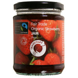Traidcraft Organic Strawberry Jam - Roots Fruits & Flowers Glasgow