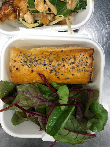 Pork & Apple Sausage Roll | Roots Lunchbox