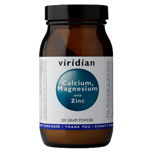Viridian Calcium, Magnesium with Zinc - Roots Fruits & Flowers Glasgow