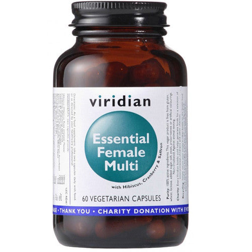 Viridian Essential Female Multi - Roots Fruits & Flowers Glasgow