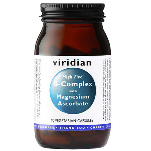 Viridian High Five B Complex with Magnesium Ascorbate - Roots Fruits & Flowers Glasgow