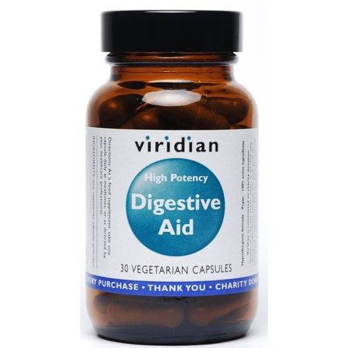 Viridian High Potency Digestive Aid - Roots Fruits & Flowers Glasgow