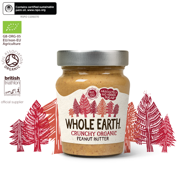 Whole Earth Organic Crunchy Peanut Butter