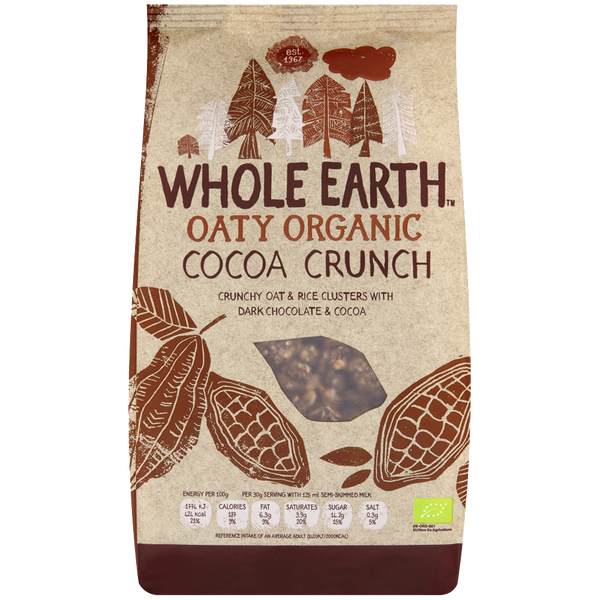 Whole Earth Organic Cocoa Crunch
