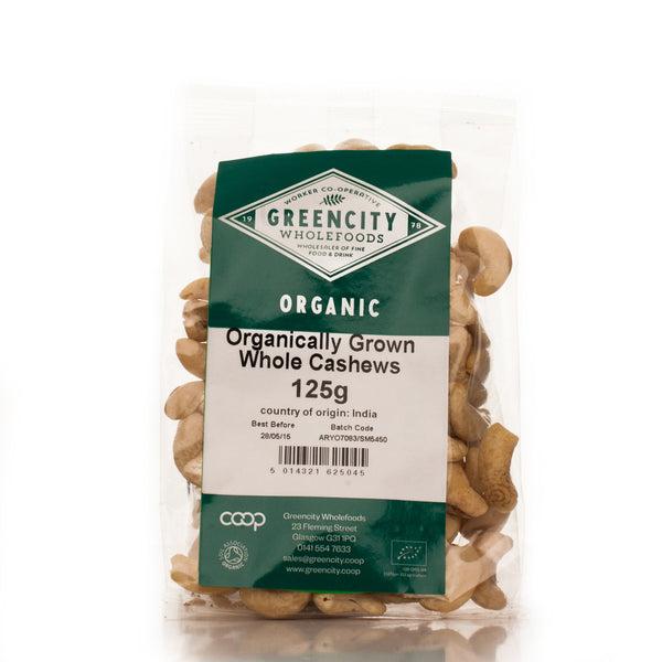 Greencity Organic Whole Cashews
