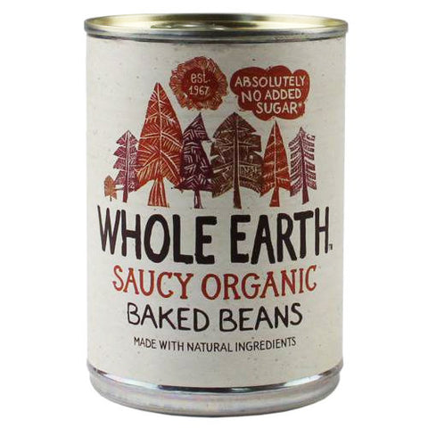 Whole Earth Organic Baked Beans - Roots Fruits & Flowers Glasgow