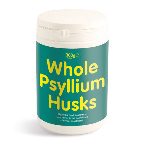 Whole Psyllium Husks 300g Powder - Roots Fruits & Flowers Glasgow
