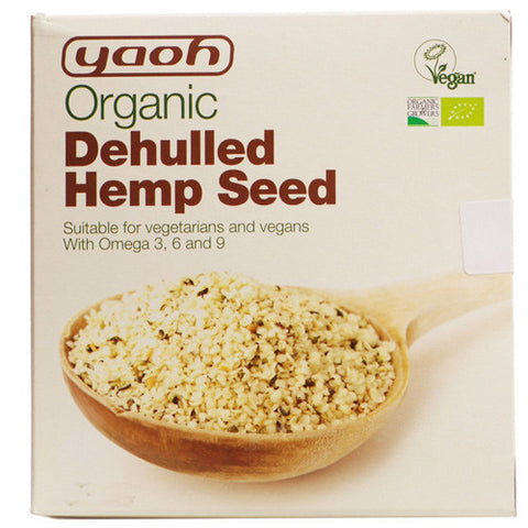 Yaoh Organic Dehulled Hemp Seed - Roots Fruits & Flowers Glasgow