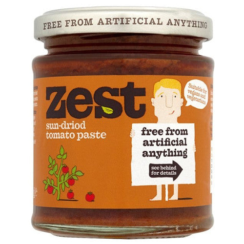 Zest Sun-Dried Tomato Paste - Roots Fruits & Flowers Glasgow