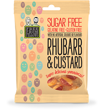 Free From Fellows Rhubarb & Custard