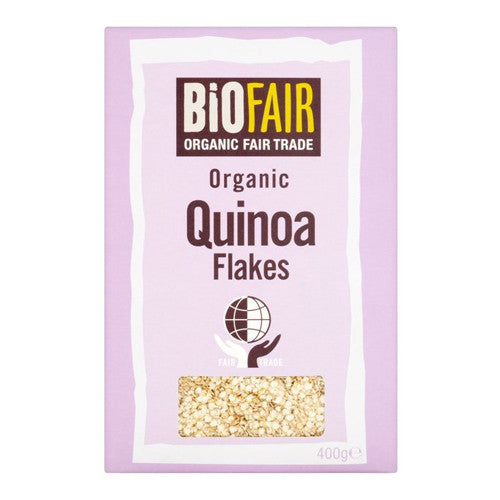 Biofair Organic Quinoa Flakes - Roots Fruits & Flowers Glasgow