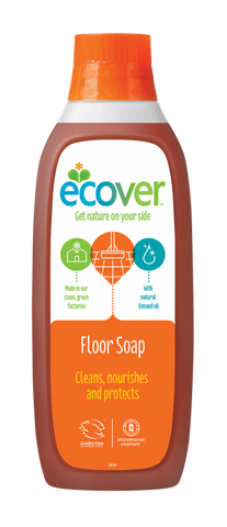 Ecover Floor Soap - Roots Fruits & Flowers Glasgow