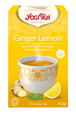 Yogi Organic Ginger Lemon Tea
