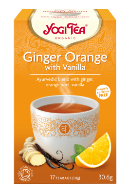 Yogi Organic Ginger Orange Tea with Vanilla