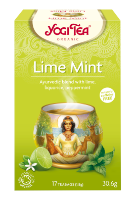 Yogi Organic Lime Mint Tea
