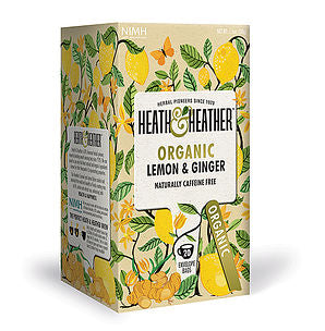 Heath & Heather Organic Lemon & Ginger