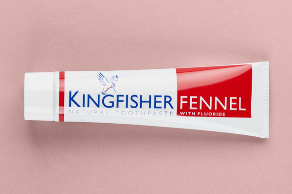 Kingfisher Fennel Toothpaste (with Fluoride)