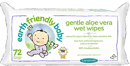 Earth Friendly Gentle Aloe Vera Wet Wipes