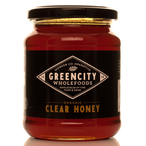 Greencity Organic Clear Honey - Roots Fruits & Flowers Glasgow