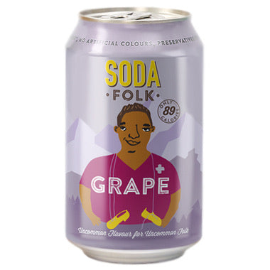 Soda Folk Grape 330ml