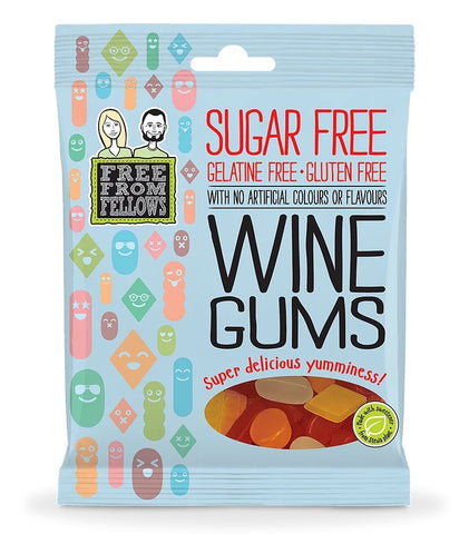 Free From Fellows Wine Gums 100g
