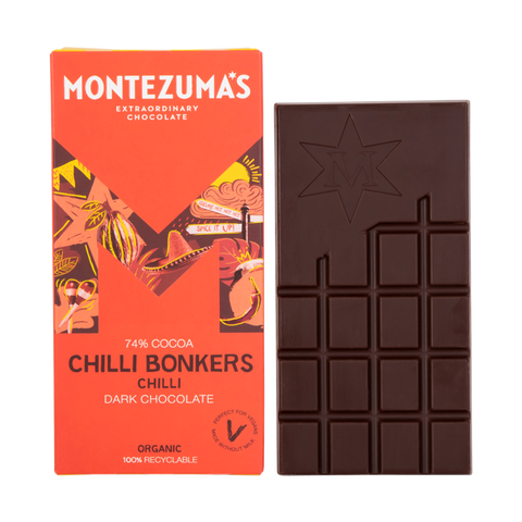 Montezuma's  Chilli Bonkers Dark Chocolate with Chilli